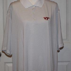 Men's Virginia Tech Nike Golf DriFit Polo Shirt